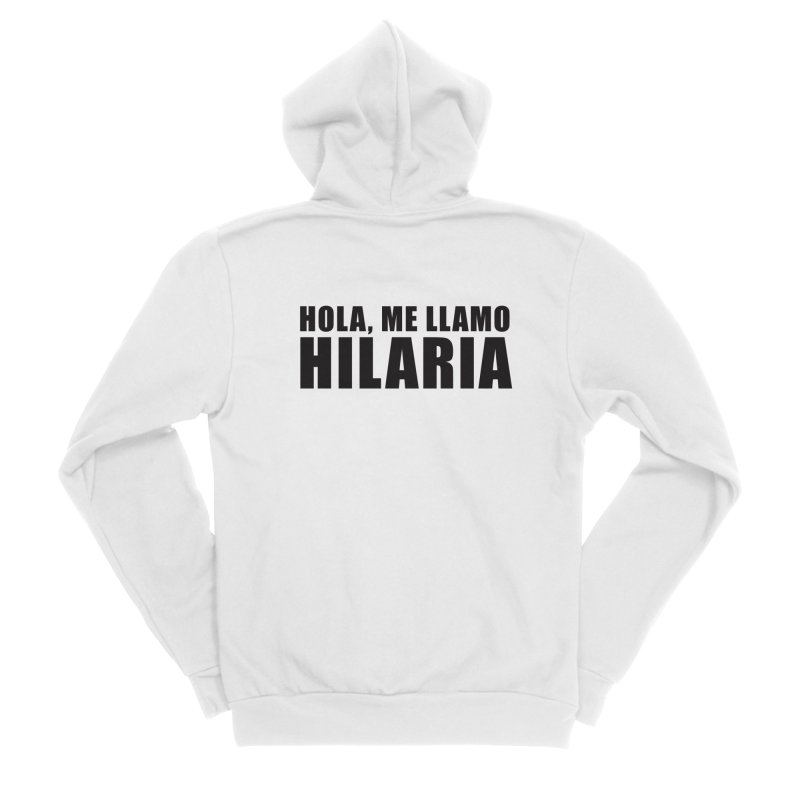 "SIDE EYE/""That's Hilaria!"" (Black) Men's Zip-Up Hoody by Josh Sabarra's Shop"