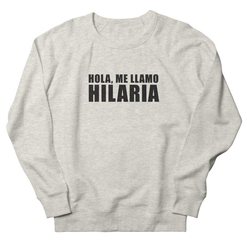 "SIDE EYE/""That's Hilaria!"" (Black) Women's Sweatshirt by Josh Sabarra's Shop"