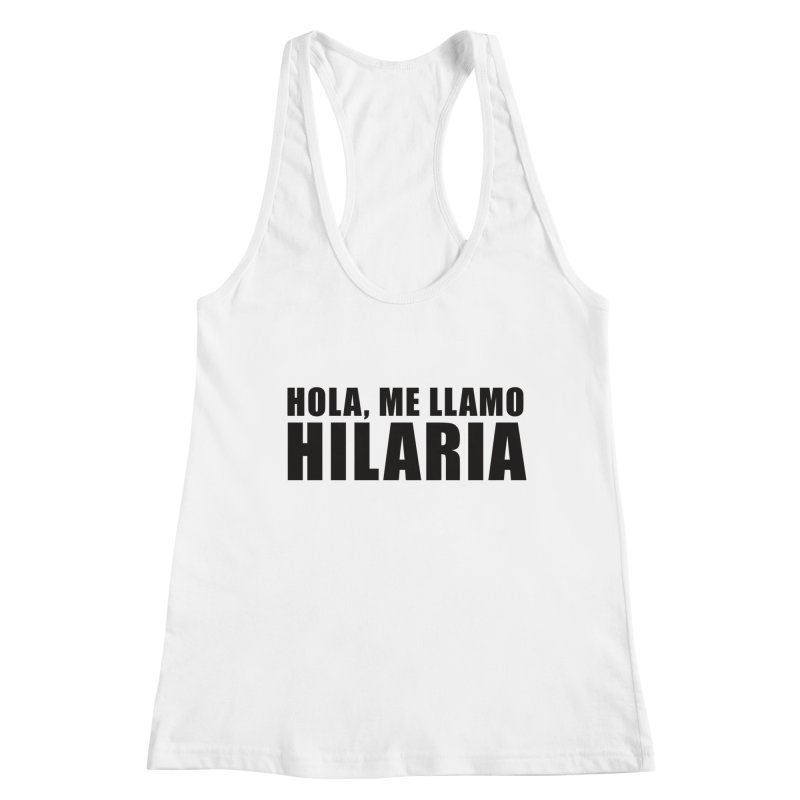 "SIDE EYE/""That's Hilaria!"" (Black) Women's Tank by Josh Sabarra's Shop"