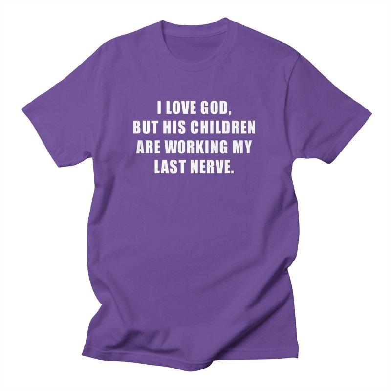 "SIDE EYE/""God's Children"" Men's T-Shirt by Josh Sabarra's Shop"