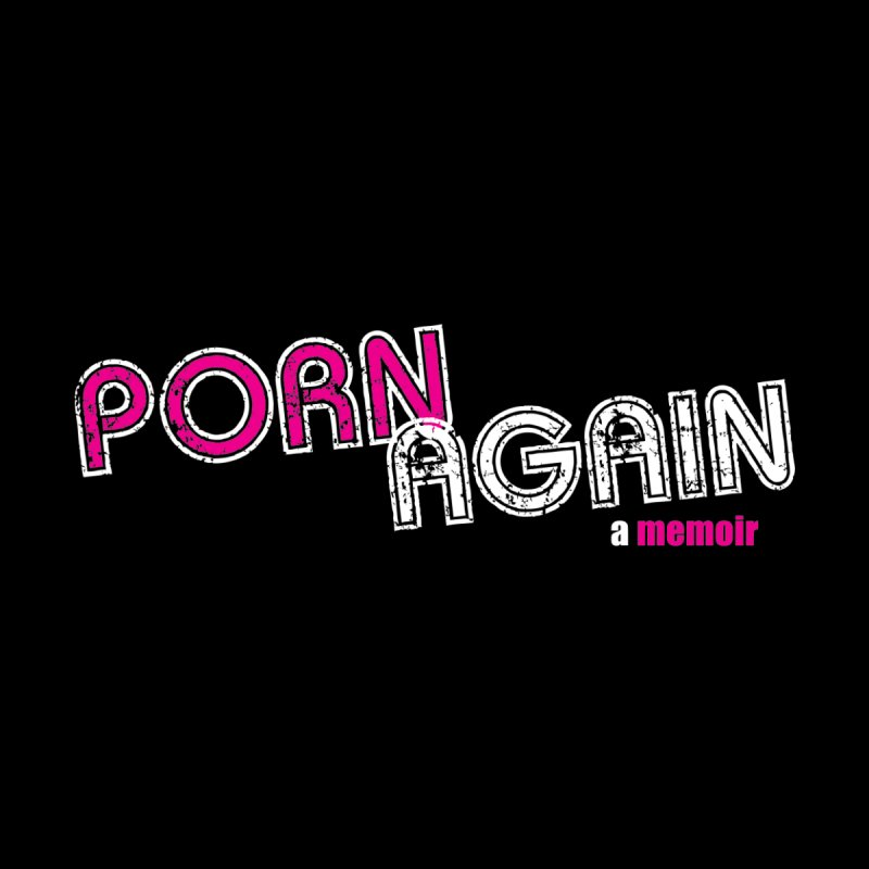 PORN AGAIN Logo (Pink/White) Accessories Skateboard by Josh Sabarra's Shop