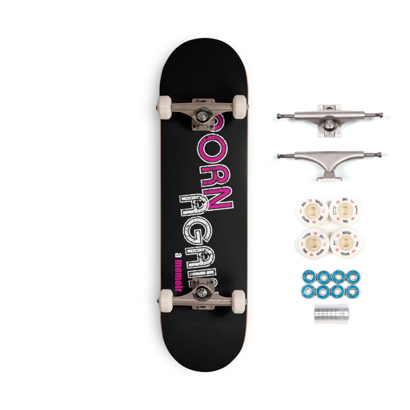 PORN AGAIN Logo (Pink/White) Accessories Complete - Premium Skateboard by Josh Sabarra's Shop