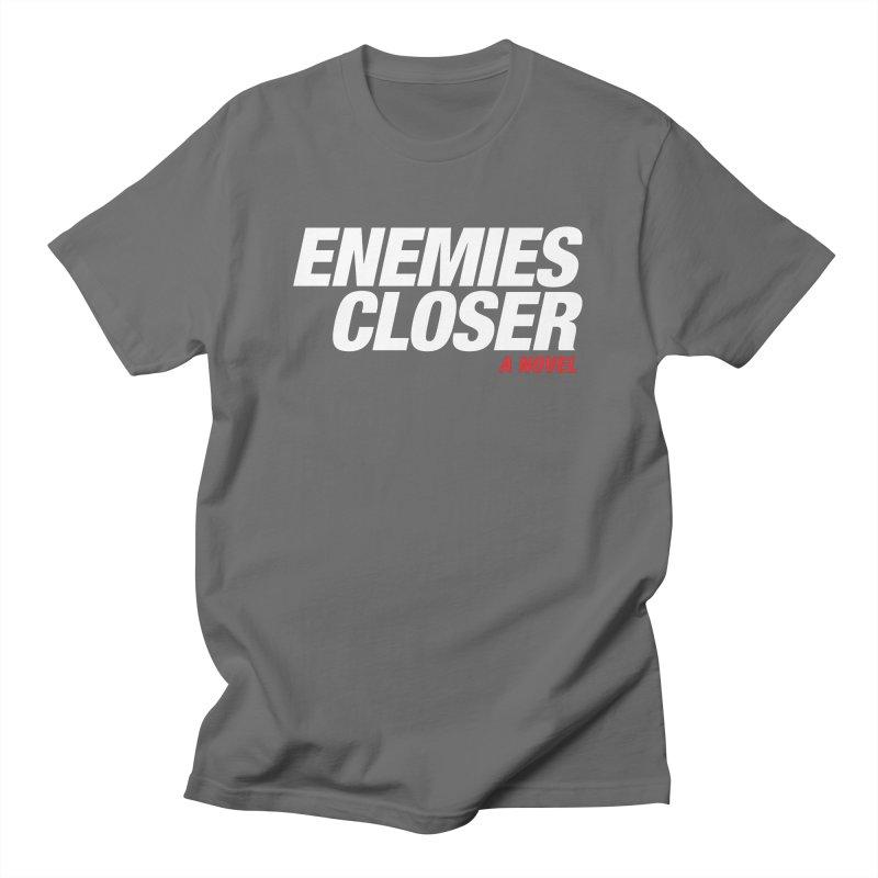 ENEMIES CLOSER Logo (White) Women's T-Shirt by Josh Sabarra's Shop