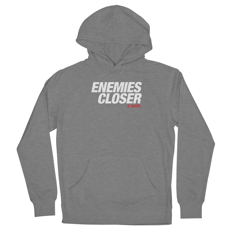 ENEMIES CLOSER Logo (White) Women's Pullover Hoody by Josh Sabarra's Shop