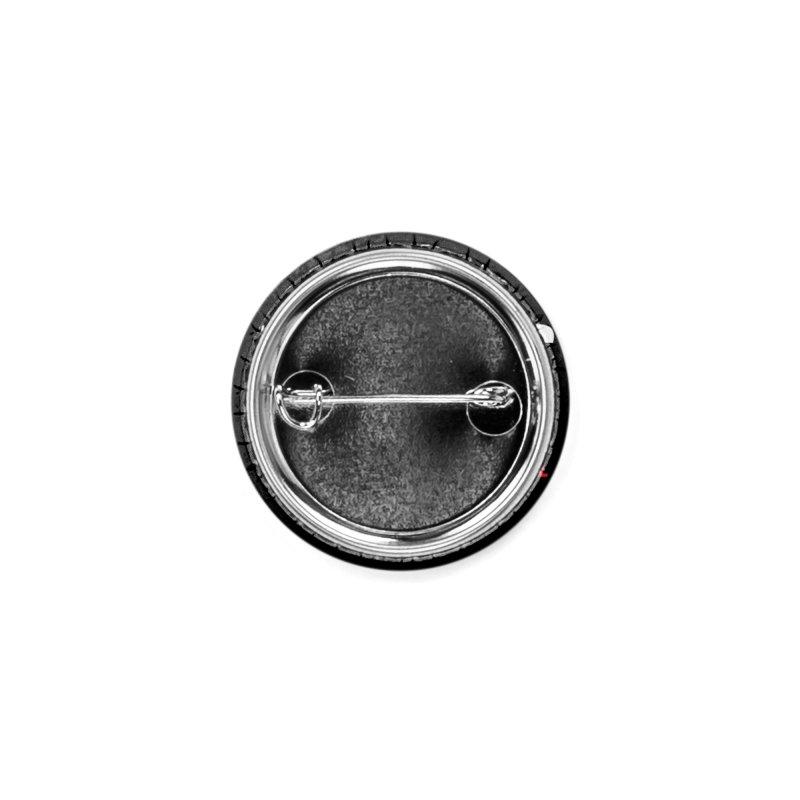 ENEMIES CLOSER Logo (White) Accessories Button by Josh Sabarra's Shop