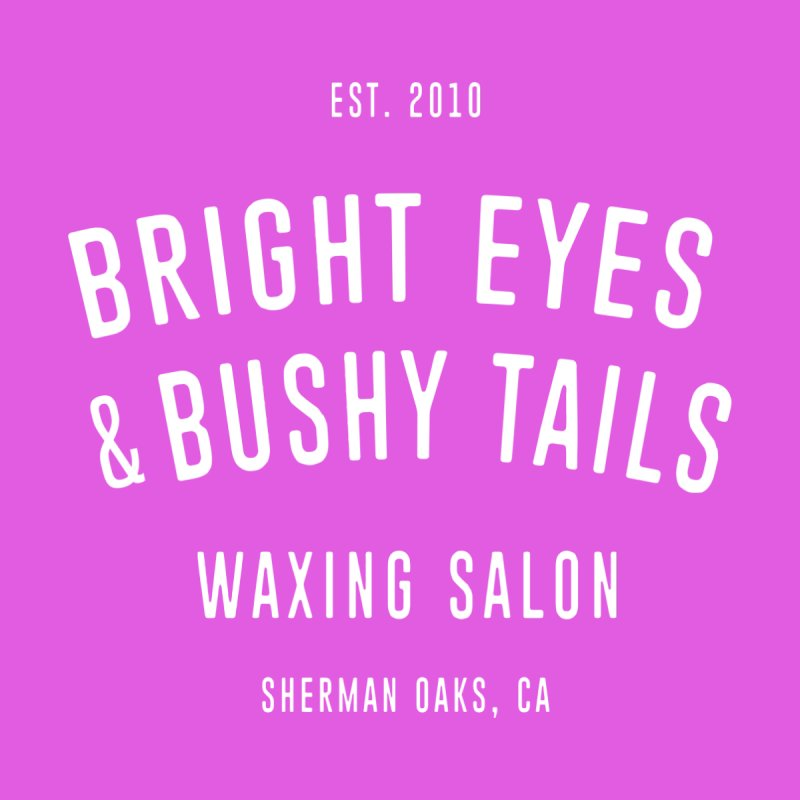 "ENEMIES CLOSER/""Bright Eyes & Bushy Tails"" Waxing Salon (White) Women's T-Shirt by Josh Sabarra's Shop"