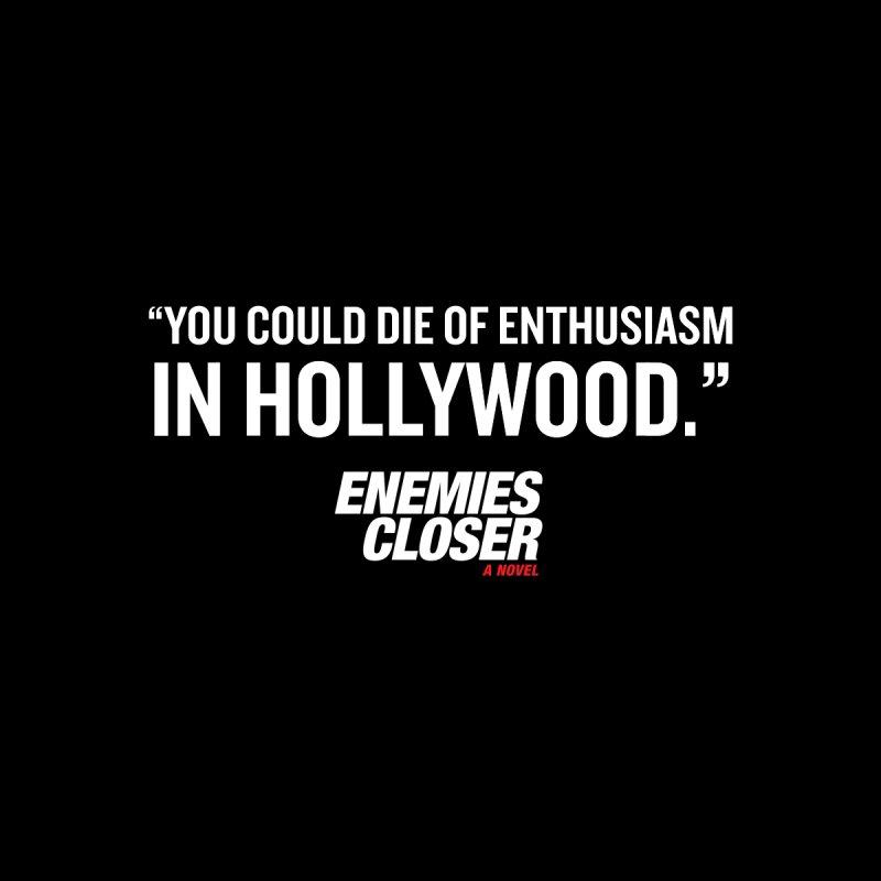 "ENEMIES CLOSER/""Die of Enthusiasm"" (White) by Josh Sabarra's Shop"