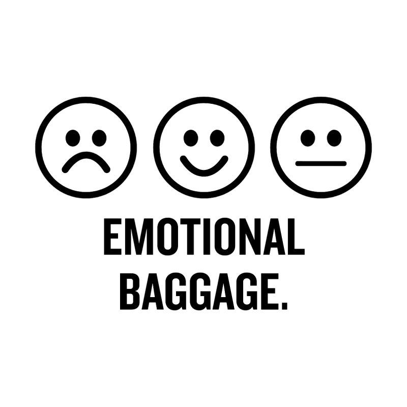 "SIDE EYE/""Emotional Baggage"" (Black) by Josh Sabarra's Shop"
