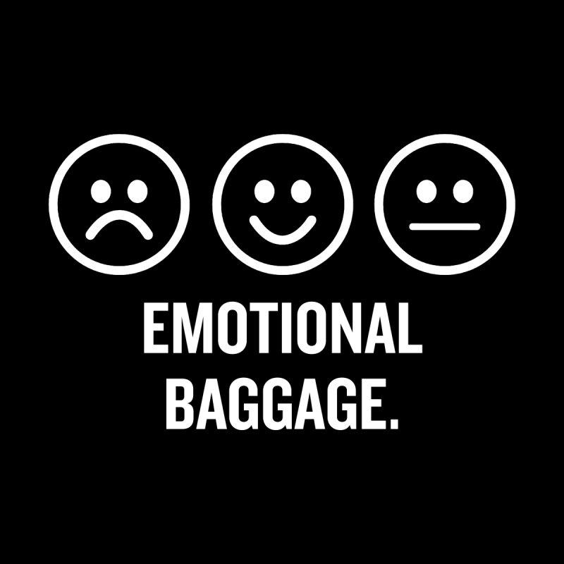 "SIDE EYE/""Emotional Baggage"" (White) by Josh Sabarra's Shop"