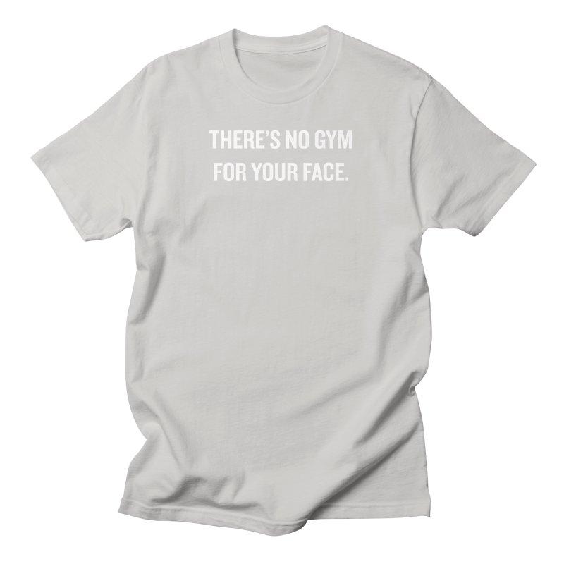 "SIDE EYE/""No Gym"" (White) Women's Unisex T-Shirt by Josh Sabarra's Shop"