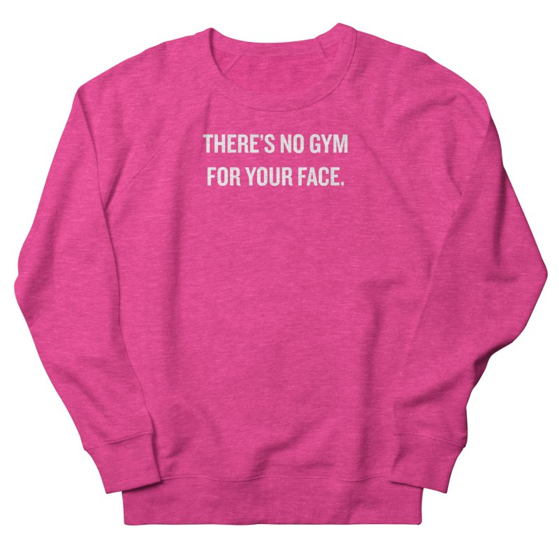 "SIDE EYE/""No Gym"" (White) Men's Sweatshirt by Josh Sabarra's Shop"