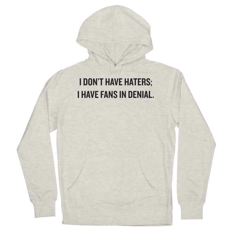 "SIDE EYE/""Haters"" (Black) Women's Pullover Hoody by Josh Sabarra's Shop"