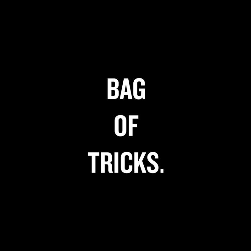 "SIDE EYE/""Bag of Tricks"" (White) by Josh Sabarra's Shop"