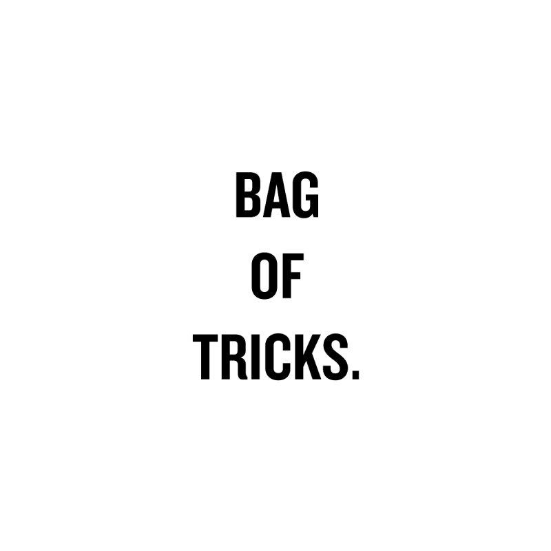 "SIDE EYE/""Bag of Tricks"" (Black) by Josh Sabarra's Shop"