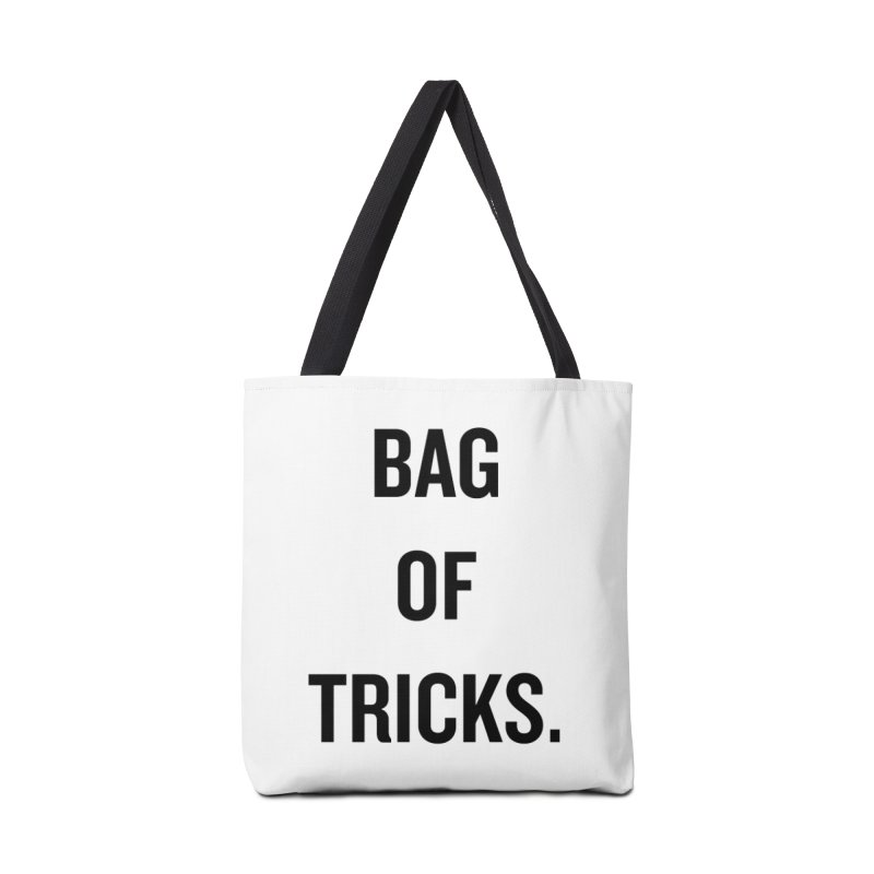 "SIDE EYE/""Bag of Tricks"" (Black) Accessories Bag by Josh Sabarra's Shop"