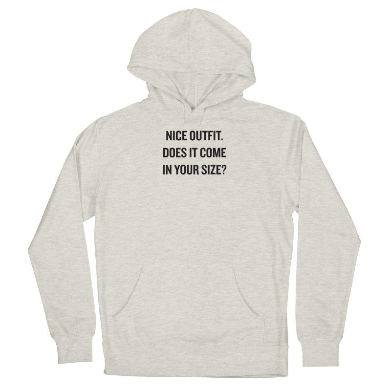 "SIDE EYE/""Nice Outfit"" (Black) Women's Pullover Hoody by Josh Sabarra's Shop"