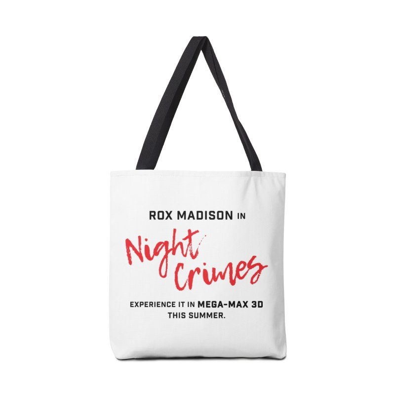 "ENEMIES CLOSER/""Rox Madison"" (Black/Red) Accessories Bag by Josh Sabarra's Shop"