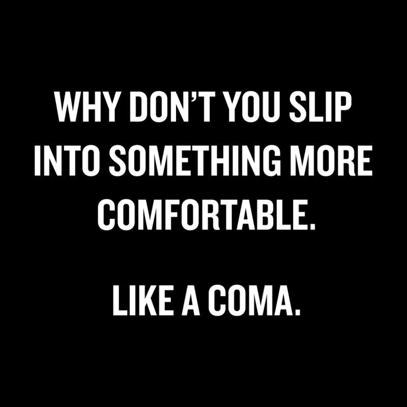 "SIDE EYE/""Coma"" (White) by Josh Sabarra's Shop"