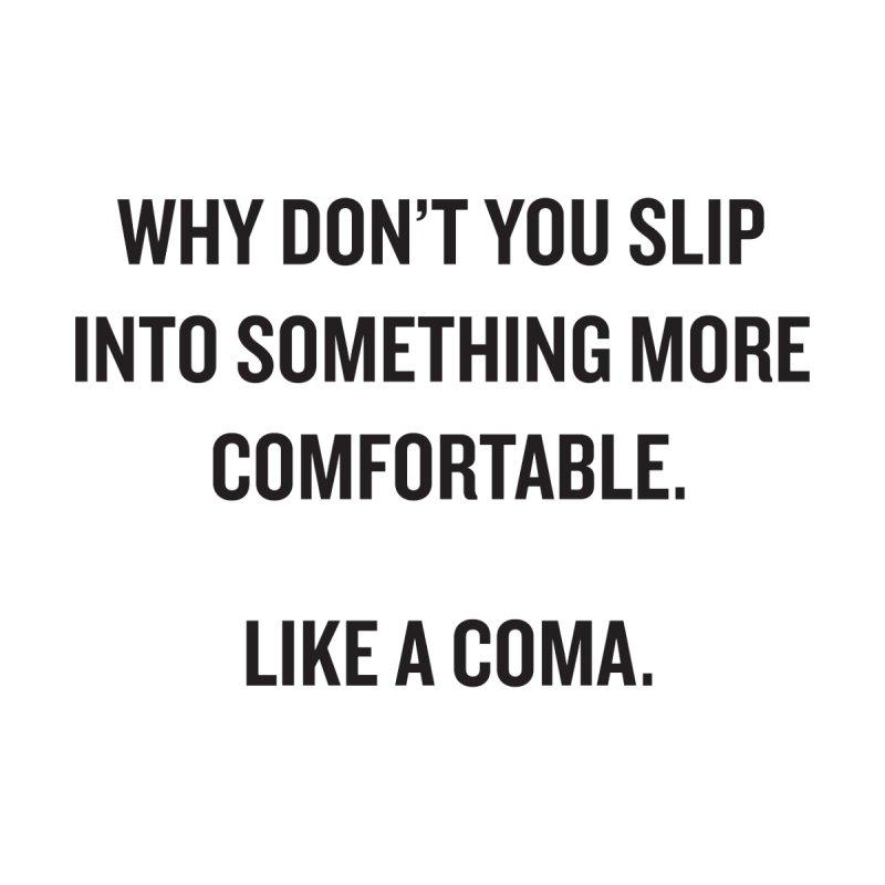 "SIDE EYE/""Coma"" (Black) by Josh Sabarra's Shop"