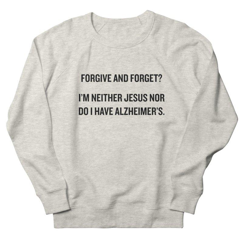 "SIDE EYE/""Forgive and Forget"" (Black) Men's Sweatshirt by Josh Sabarra's Shop"