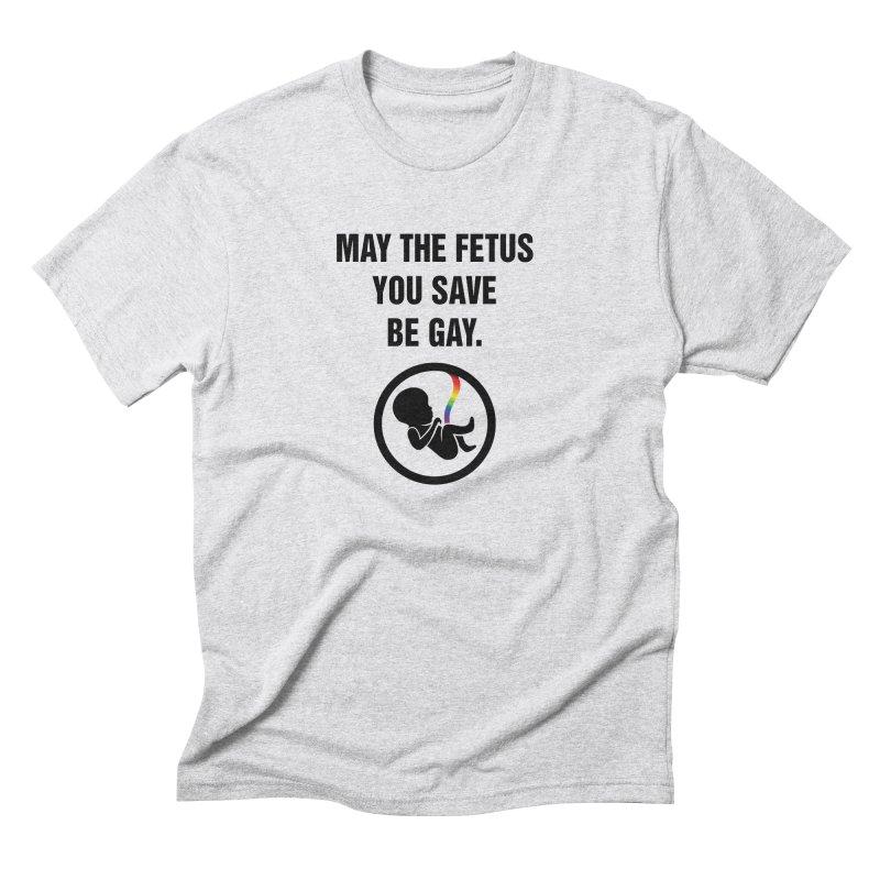 "SIDE EYE/""Fetus"" (Black) Men's T-Shirt by Josh Sabarra's Shop"
