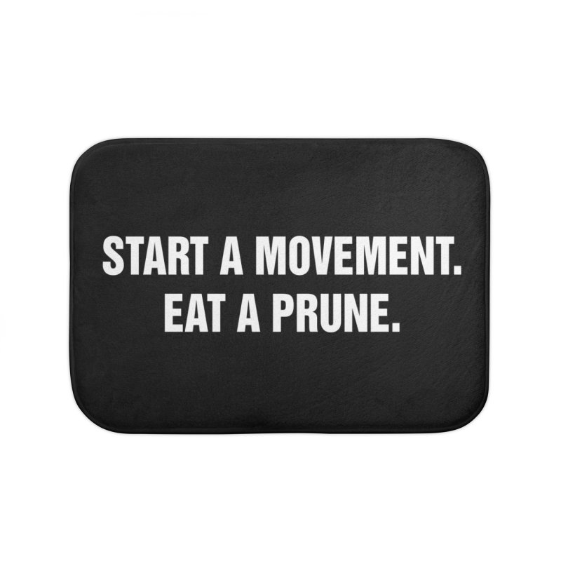 "SIDE EYE/""Movement"" (White) Home Bath Mat by Josh Sabarra's Shop"
