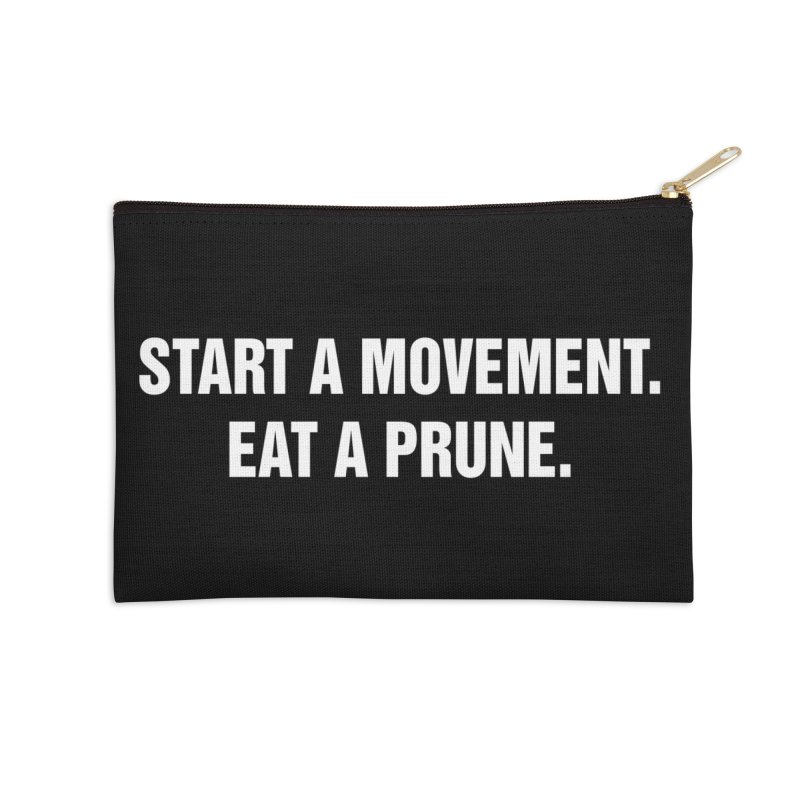 "SIDE EYE/""Movement"" (White) Accessories Zip Pouch by Josh Sabarra's Shop"