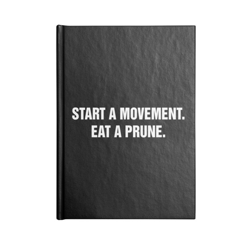 "SIDE EYE/""Movement"" (White) Accessories Notebook by Josh Sabarra's Shop"