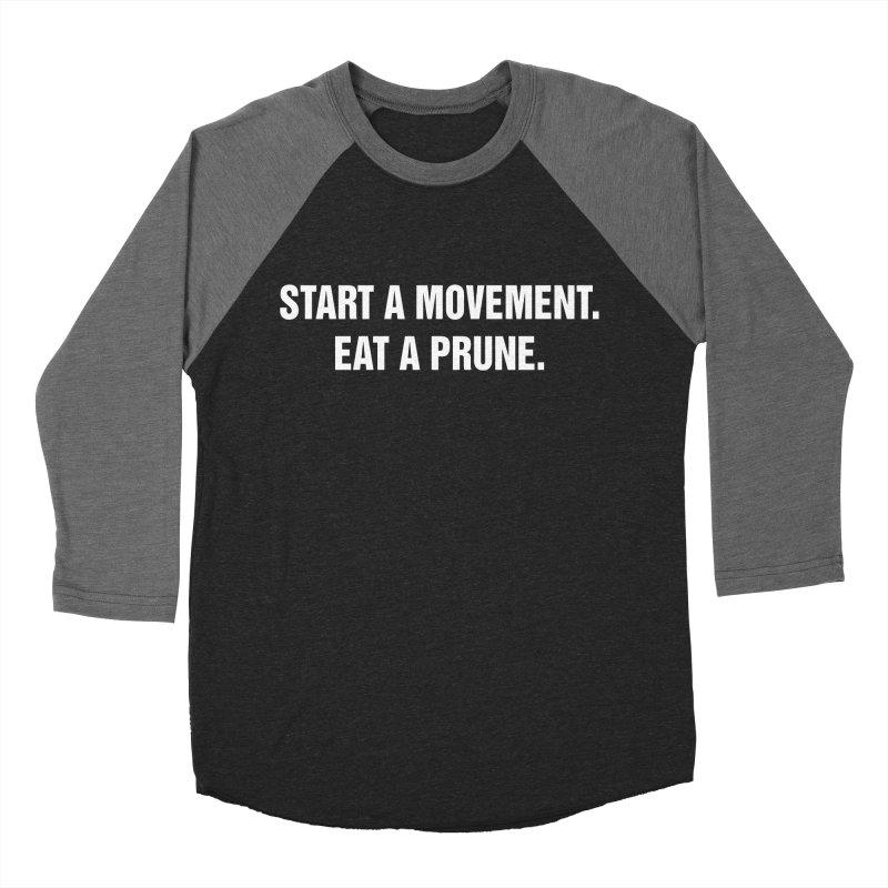 "SIDE EYE/""Movement"" (White) Women's Baseball Triblend T-Shirt by Josh Sabarra's Shop"