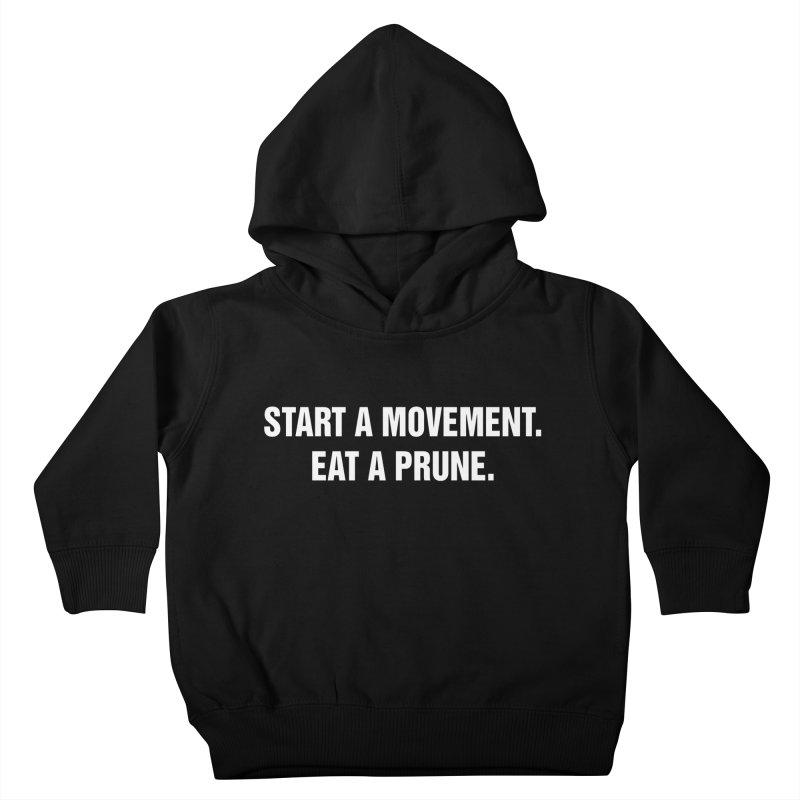 "SIDE EYE/""Movement"" (White) Kids Toddler Pullover Hoody by Josh Sabarra's Shop"