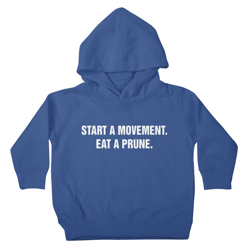 "SIDE EYE/""Movement"" (White) Kids Toddler Pullover Hoody by Josh Sabarra's Shop"