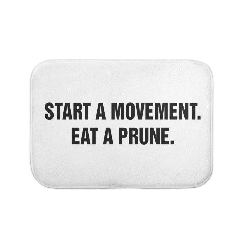 "SIDE EYE/""Movement"" (Black) Home Bath Mat by Josh Sabarra's Shop"