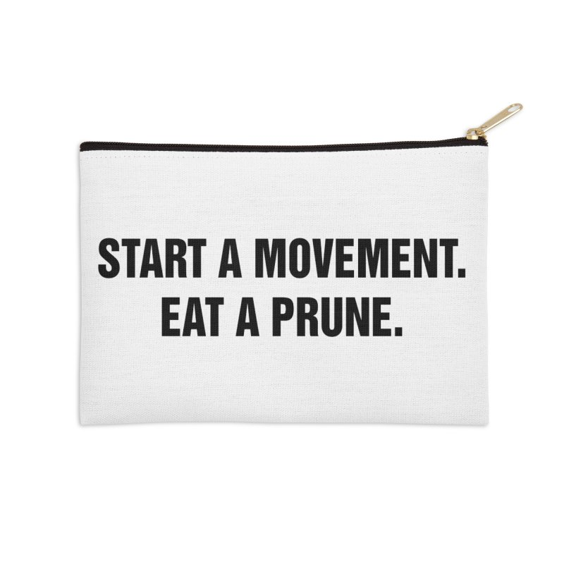 "SIDE EYE/""Movement"" (Black) Accessories Zip Pouch by Josh Sabarra's Shop"