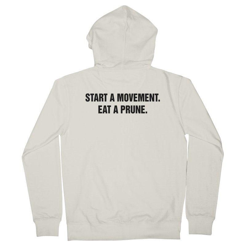 "SIDE EYE/""Movement"" (Black) Men's Zip-Up Hoody by Josh Sabarra's Shop"