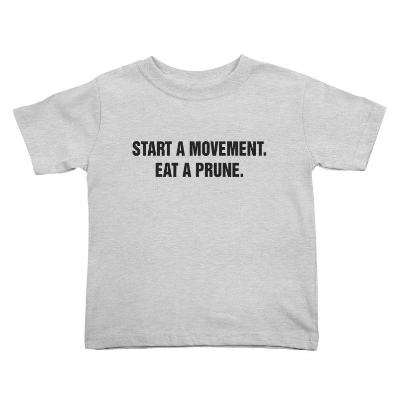 "SIDE EYE/""Movement"" (Black) Kids Toddler T-Shirt by Josh Sabarra's Shop"