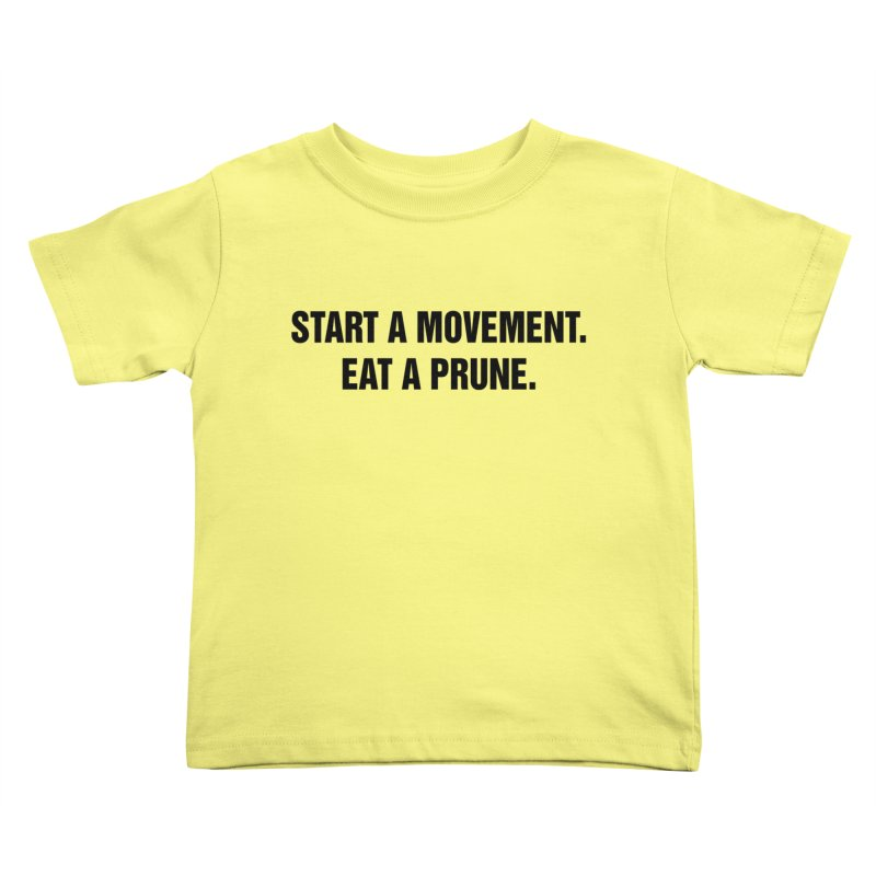 "SIDE EYE/""Movement"" (Black) Kids Toddler T-Shirt by Josh Sabarra's Shop"