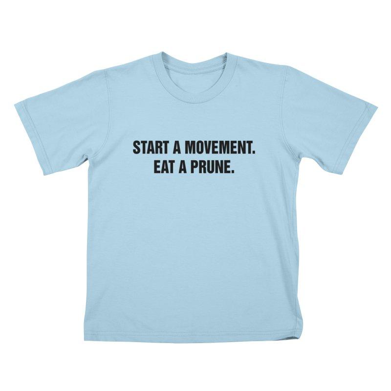 "SIDE EYE/""Movement"" (Black) Kids T-Shirt by Josh Sabarra's Shop"