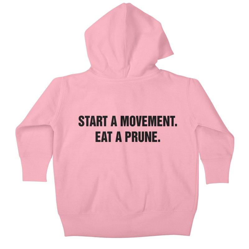 "SIDE EYE/""Movement"" (Black) Kids Baby Zip-Up Hoody by Josh Sabarra's Shop"