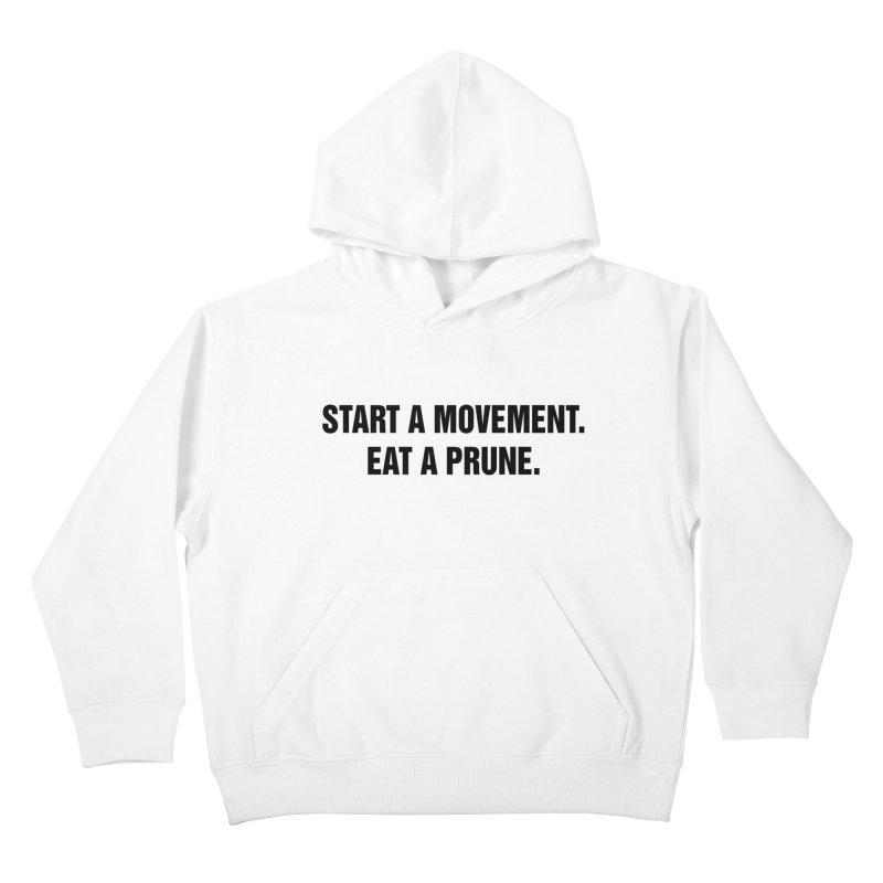 "SIDE EYE/""Movement"" (Black) Kids Pullover Hoody by Josh Sabarra's Shop"