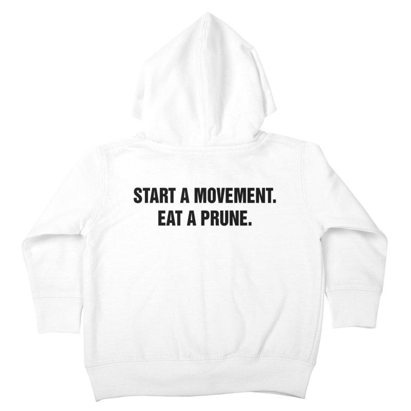 "SIDE EYE/""Movement"" (Black) Kids Toddler Zip-Up Hoody by Josh Sabarra's Shop"