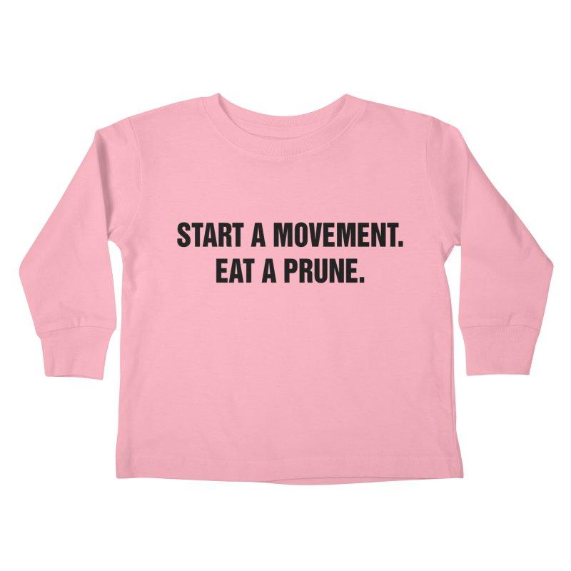 "SIDE EYE/""Movement"" (Black) Kids Toddler Longsleeve T-Shirt by Josh Sabarra's Shop"
