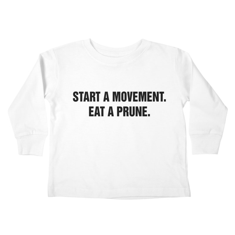 "SIDE EYE/""Movement"" (Black) Kids Toddler Longsleeve T-Shirt by Josh Sabarra's Shop"