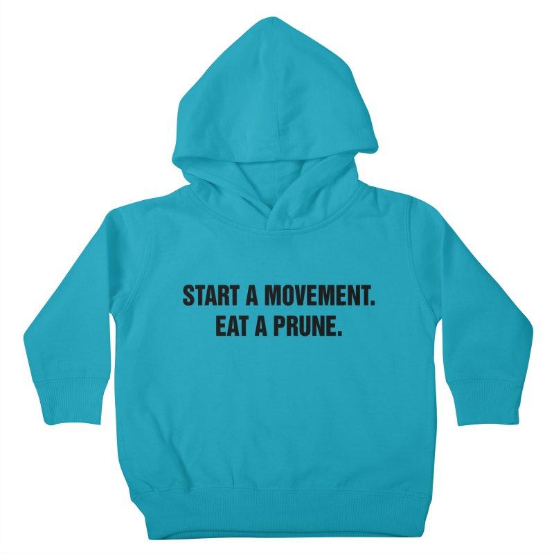 "SIDE EYE/""Movement"" (Black) Kids Toddler Pullover Hoody by Josh Sabarra's Shop"
