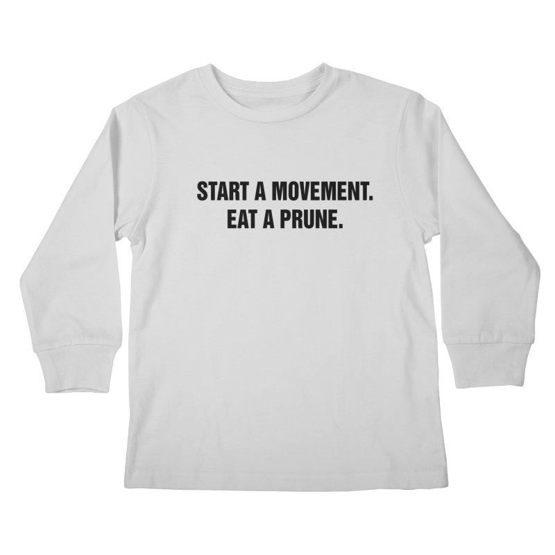 "SIDE EYE/""Movement"" (Black) Kids Longsleeve T-Shirt by Josh Sabarra's Shop"