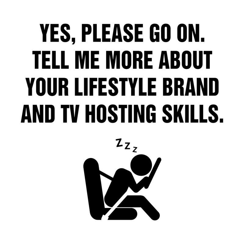 "SIDE EYE/""Lifestyle Host"" (Black) by Josh Sabarra's Shop"