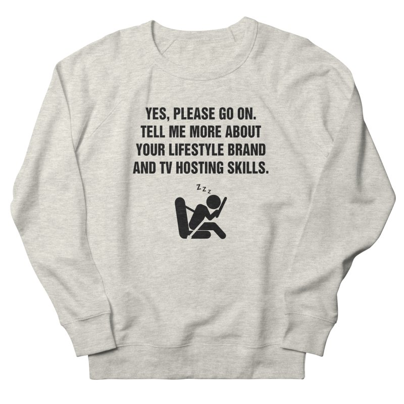 "SIDE EYE/""Lifestyle Host"" (Black) Men's Sweatshirt by Josh Sabarra's Shop"