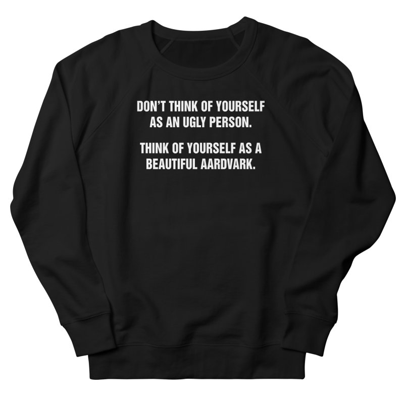 "SIDE EYE/""Ugly Person"" (White) Men's Sweatshirt by Josh Sabarra's Shop"