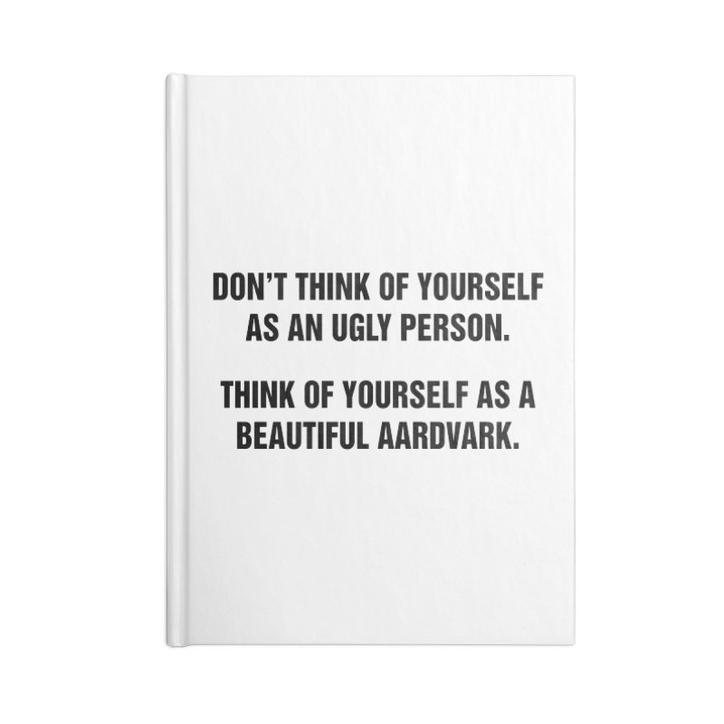 """SIDE EYE/""""Ugly Person"""" (Black) Accessories Notebook by Josh Sabarra's Shop"""