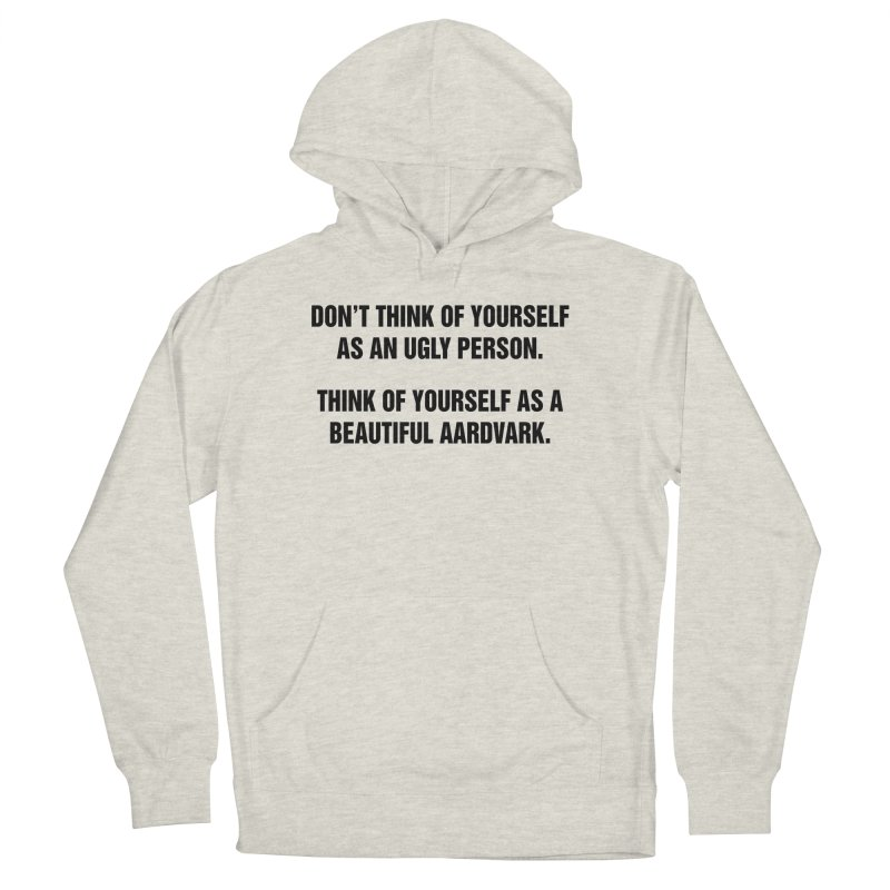 "SIDE EYE/""Ugly Person"" (Black) Women's Pullover Hoody by Josh Sabarra's Shop"