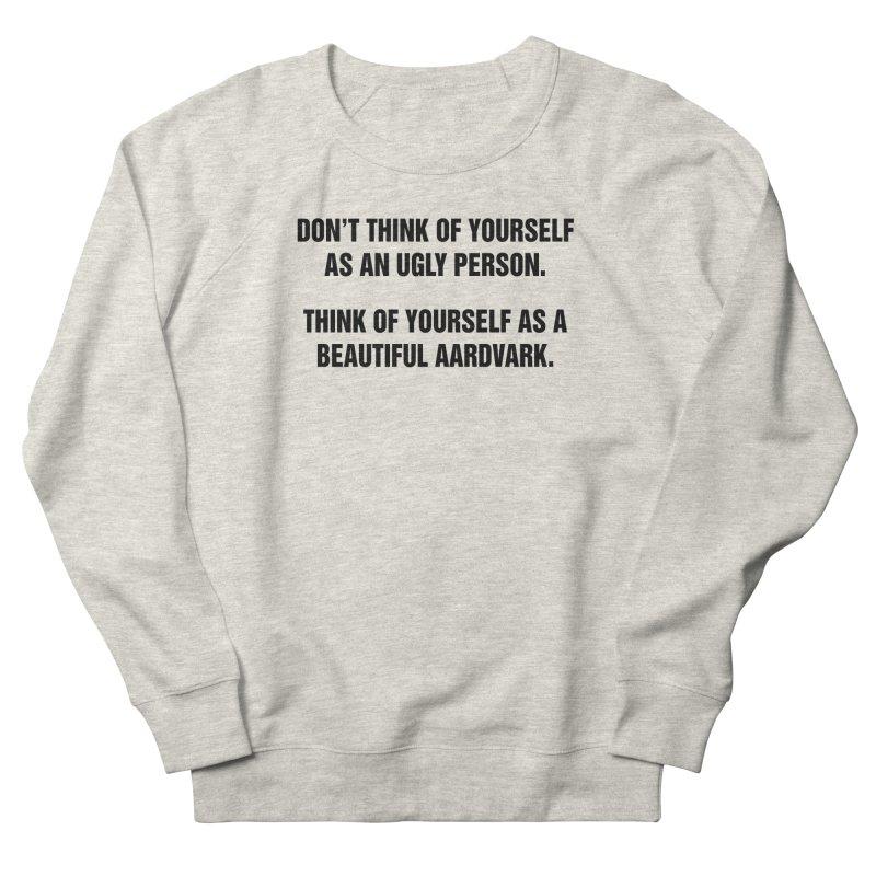 """SIDE EYE/""""Ugly Person"""" (Black) Men's Sweatshirt by Josh Sabarra's Shop"""